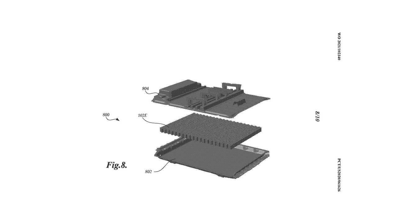 La patente de Tesla de las baterías portadoras