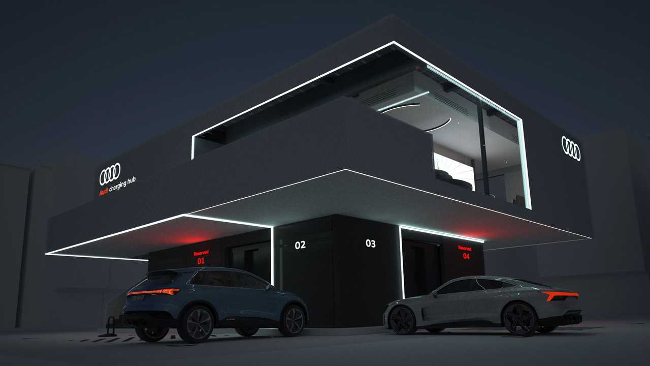 Centro de carga de Audi