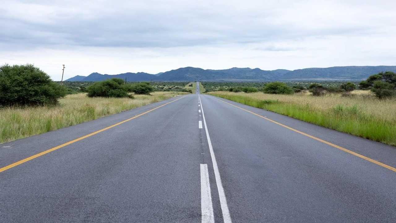 Carretera en Sudáfrica