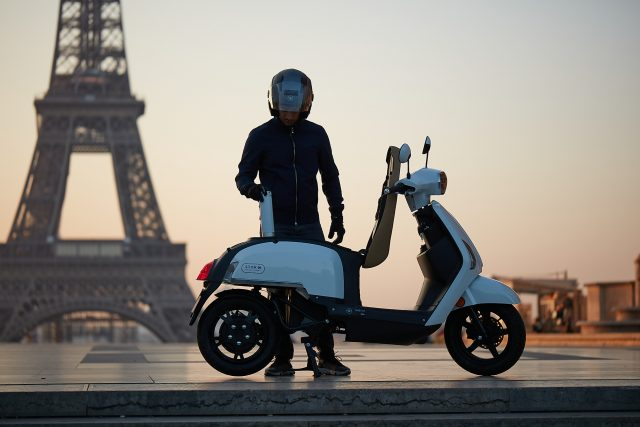 scooter de hidrógeno