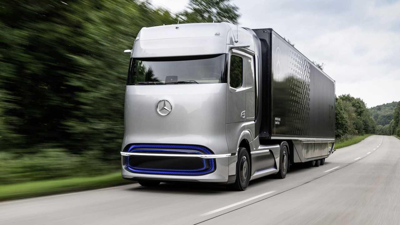 Mercedes y Volvo: una empresa conjunta para el camión de hidrógeno