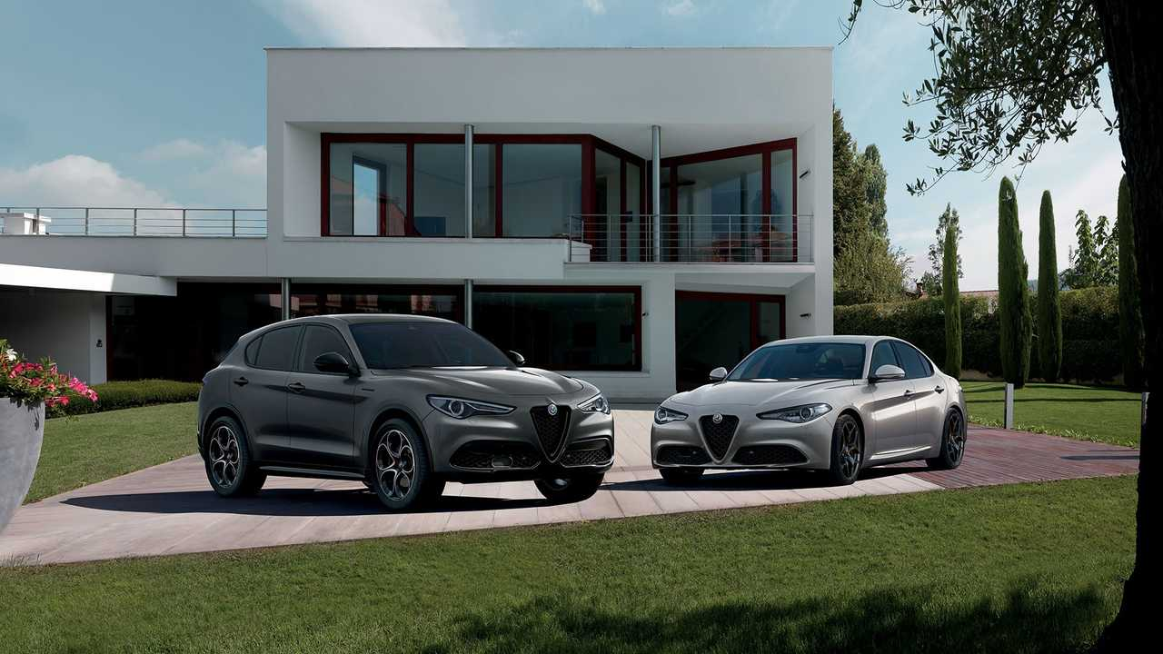 Alfa Romeo Giulia y Stelvio Web Edition