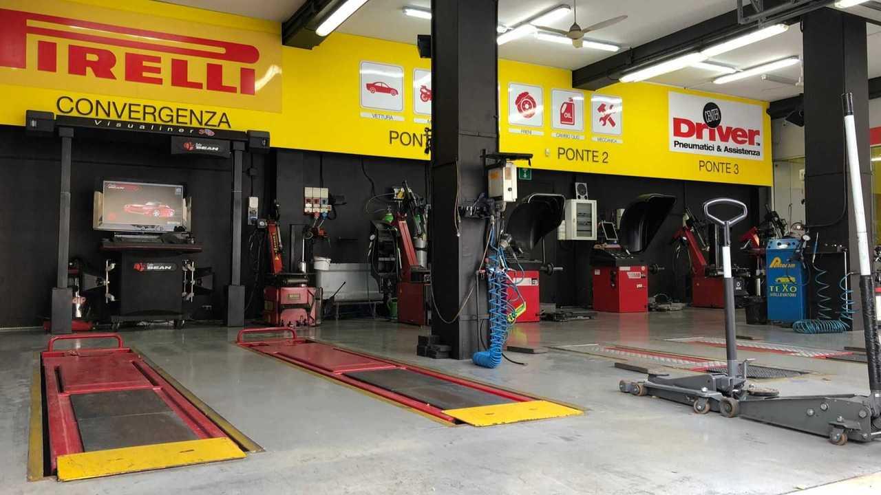 Pirelli y Enel X juntos para la instalación de columnas en los concesionarios de neumáticos Driver