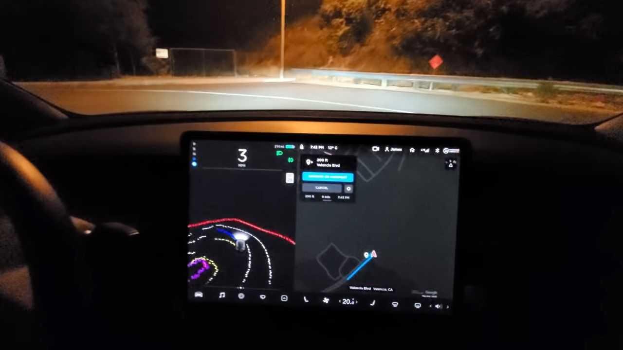 Cambio de sentido del piloto automático Tesla