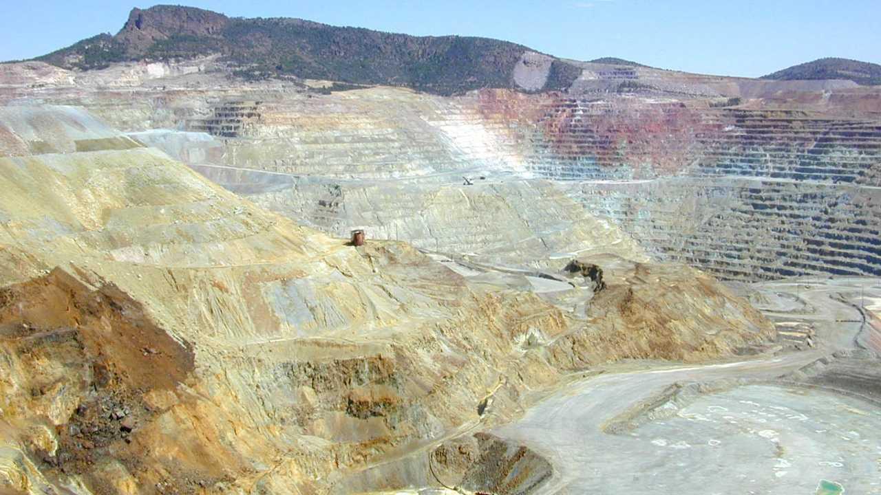 Minería de cobre, cobre