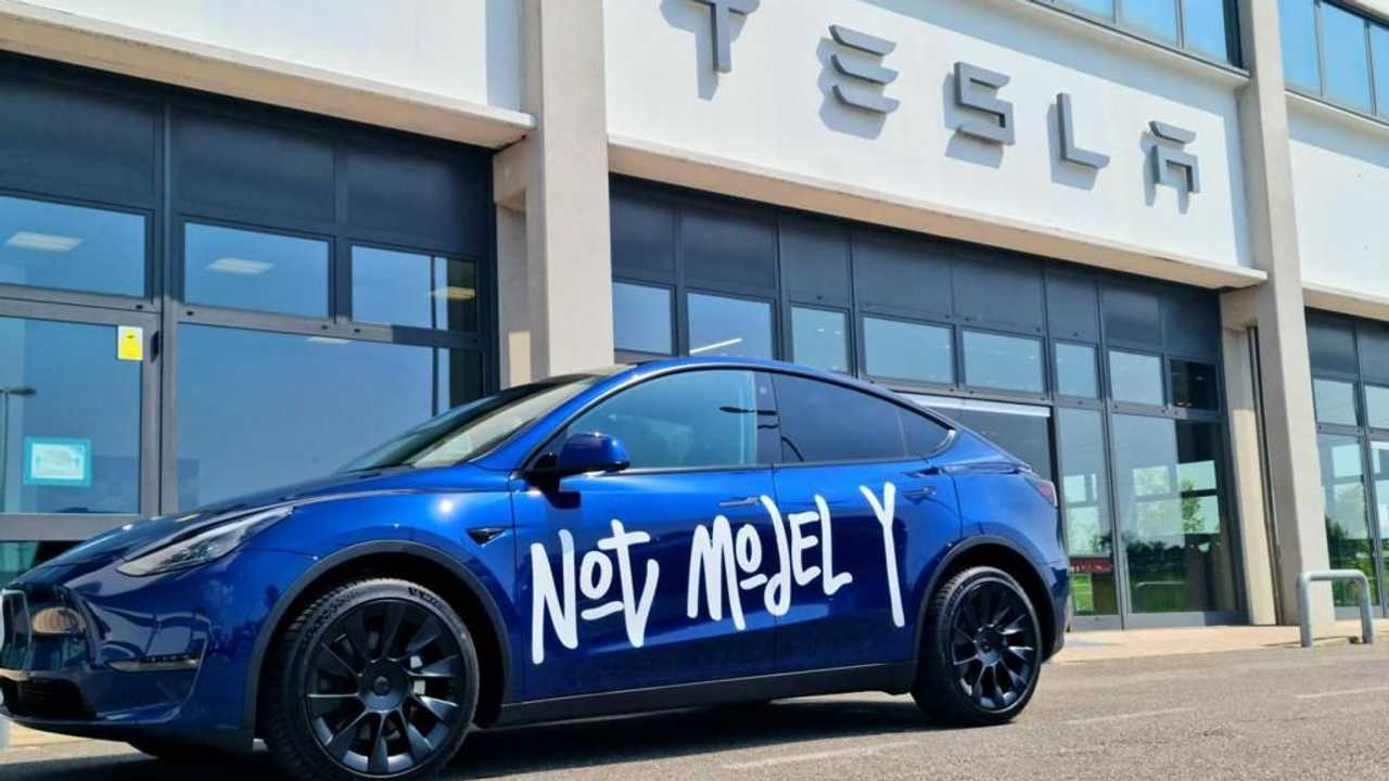 Tesla Model Y en Milán
